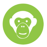 Chimp face icon