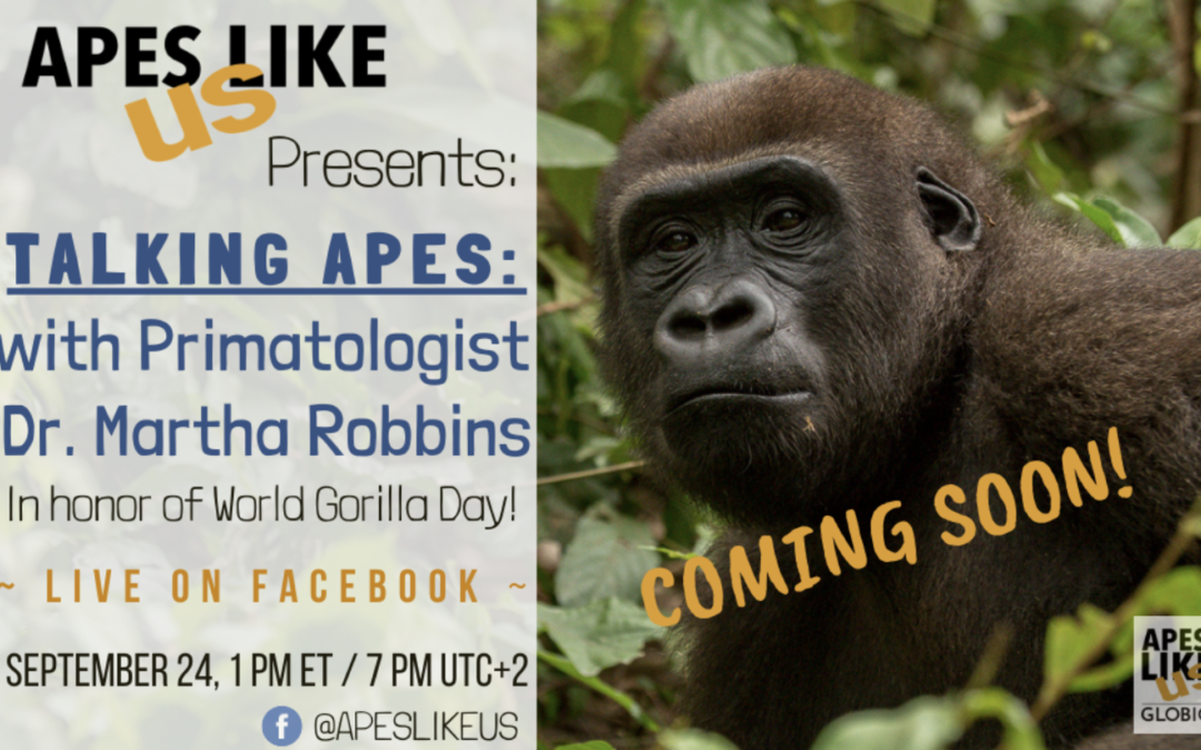 Talking Apes — Bringing the Voices of the Primate World Alive.