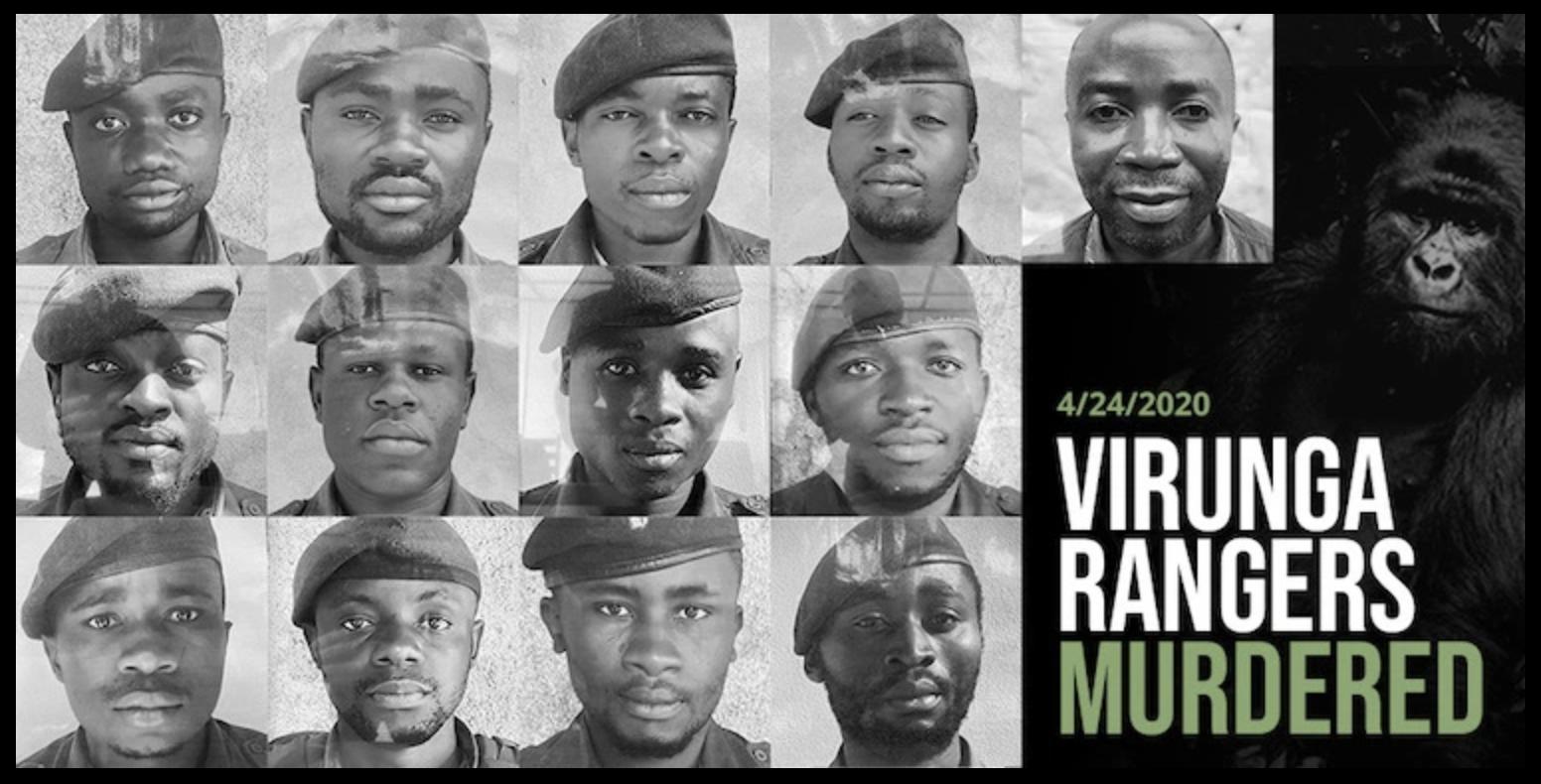 Killed Virunga NP rangers