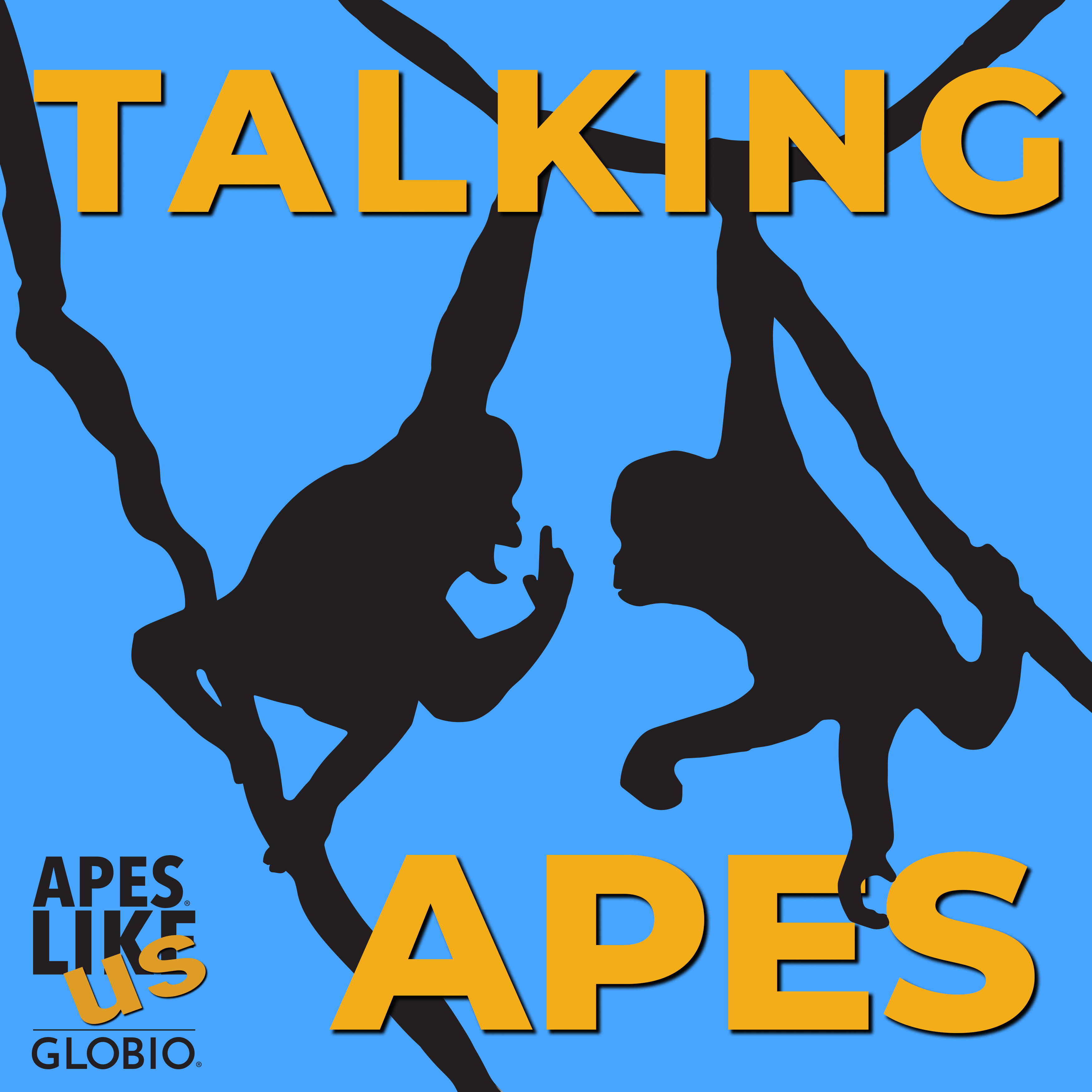 GLOBIO Talking Apes logo