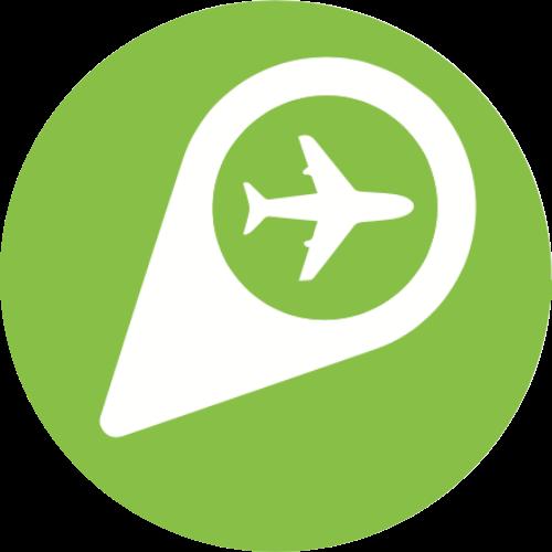 Travel with GLOBIO Logo